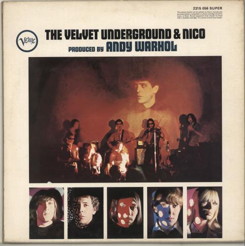 Velvet Underground The Velvet Underground & Nico - VG/EX vinyl LP album (LP record) UK VUNLPTH698657