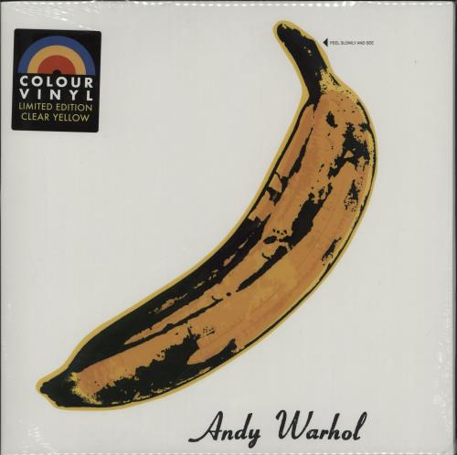 Velvet Underground The Velvet Underground & Nico - Yellow Vinyl - Sealed vinyl LP album (LP record) UK VUNLPTH757641