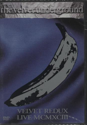 Velvet Underground Velvet Redux Live MCMXCIII - Sealed DVD US VUNDDVE759039