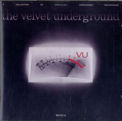 Velvet Underground VU CD album (CDLP) German VUNCDVU595190