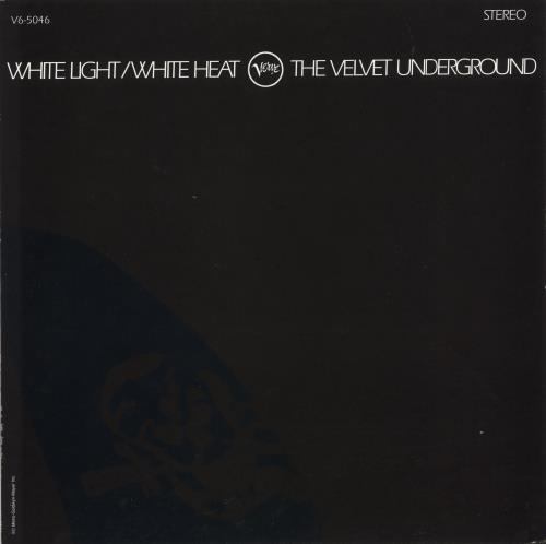 Velvet Underground White Light / White Heat vinyl LP album (LP record) US VUNLPWH742494