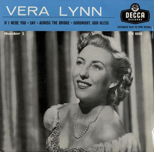 """Vera Lynn Vera Lynn Number 2 EP 7"""" vinyl single (7 inch record) UK VRN07VE548939"""