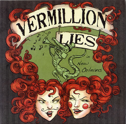 "Vermillion Lies New Orleans 7"" vinyl single (7 inch record) US WTV07NE607370"