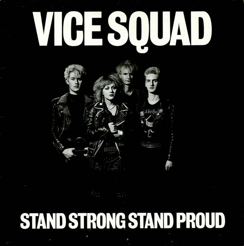 Vice Squad Stand Strong Stand Proud Uk Vinyl Lp Album Lp