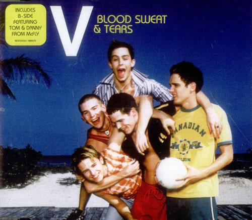 "Vice versa* Blood Sweat & Tears CD single (CD5 / 5"") UK -V-C5BL539462"