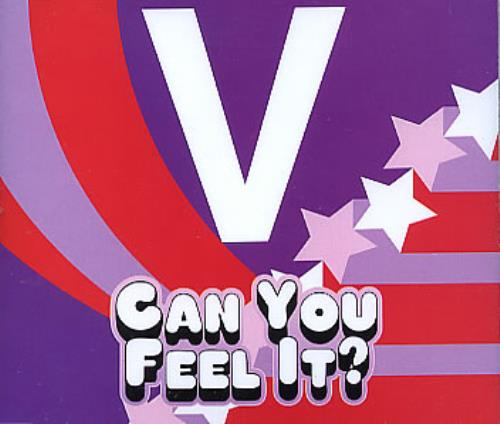 "Vice versa* Can You Feel It? CD single (CD5 / 5"") UK -V-C5CA299286"