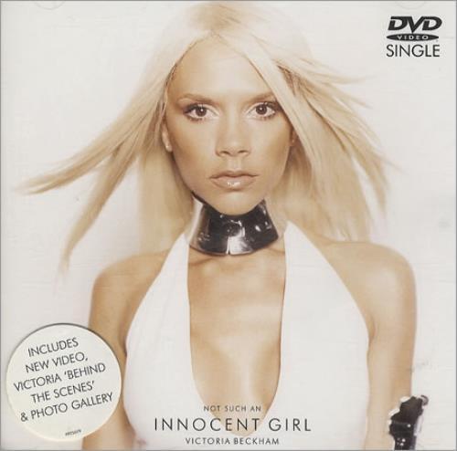 Victoria Beckham Not Such An Innocent Girl CD/DVD single set European VBKSDNO195898
