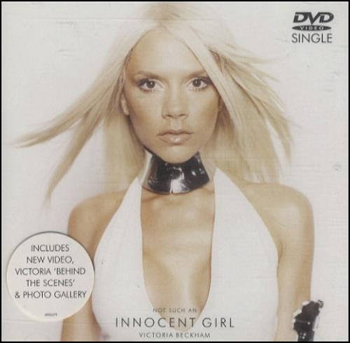 Victoria Beckham Not Such An Innocent Girl DVD Single UK VBKDSNO262190