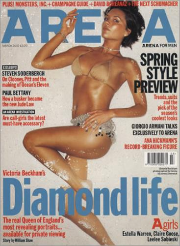 Victoria Beckham Set Of 5 Magazines magazine UK VBKMASE380909