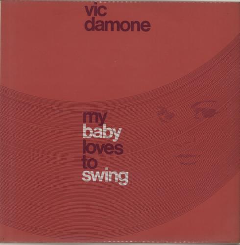 Vic Damone My Baby Loves To Swing vinyl LP album (LP record) UK VDELPMY644454