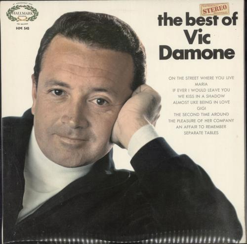 Vic Damone The Best Of Vic Damone vinyl LP album (LP record) UK VDELPTH699712