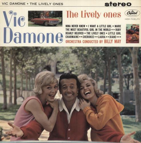 Vic Damone The Lively Ones - Stereo vinyl LP album (LP record) UK VDELPTH744632