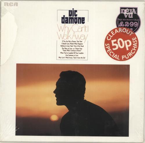 Vic Damone Why Can't I Walk Away - Sealed vinyl LP album (LP record) German VDELPWH689193