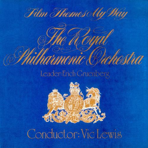 Vic Lewis Film Themes My Way - Ruby Red Vinyl vinyl LP album (LP record) UK VB-LPFI540311