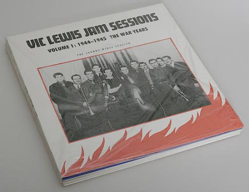 Vic Lewis Jam Sessions 1938-1954 Volumes 1 - 7 vinyl LP album (LP record) UK VB-LPJA476203