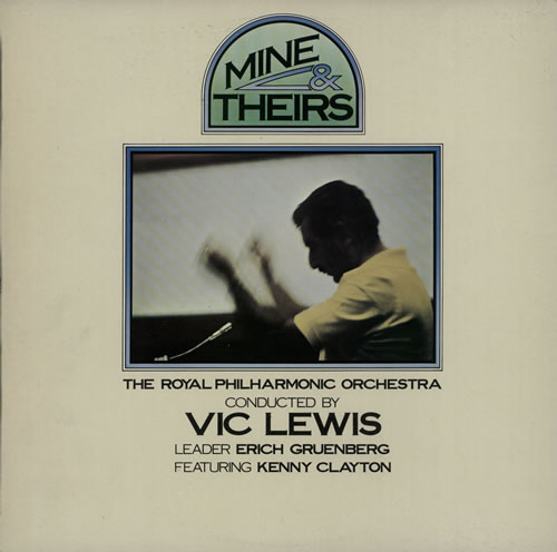 Vic Lewis Mine & Theirs - Test Pressing vinyl LP album (LP record) UK VB-LPMI637295