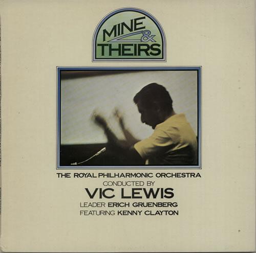 Vic Lewis Mine & Theirs vinyl LP album (LP record) UK VB-LPMI639750