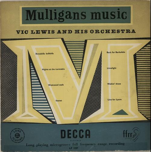 "Vic Lewis Mulligans Music 10"" vinyl single (10"" record) UK VB-10MU631442"