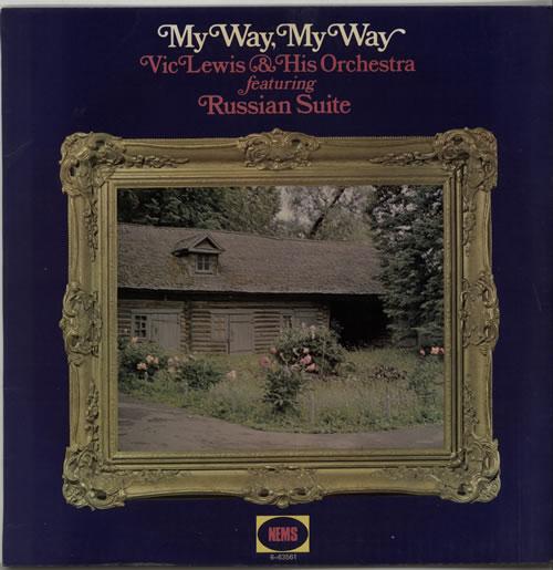 Vic Lewis My Way, My Way acetate UK VB-ATMY639655