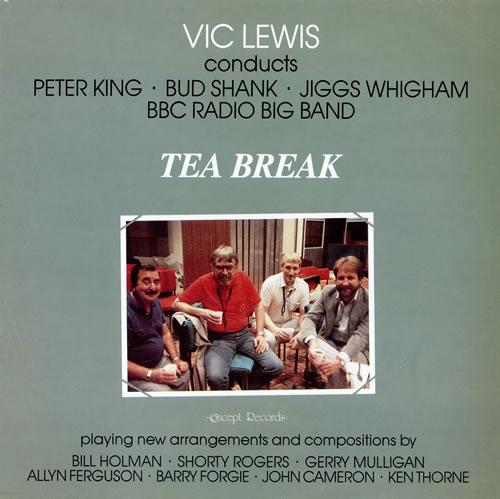 Vic Lewis Tea Break vinyl LP album (LP record) UK VB-LPTE472844