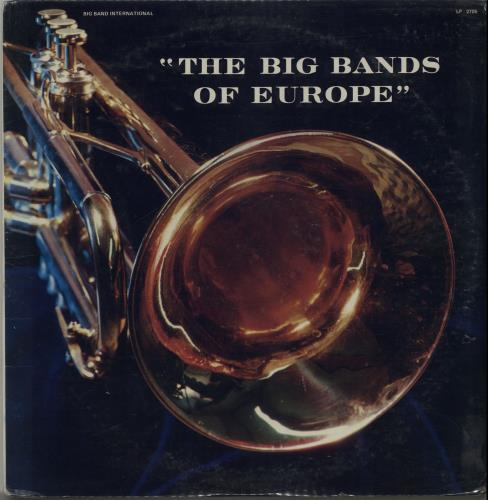 Vic Lewis The Big Bands Of Europe - Sealed 2-LP vinyl record set (Double Album) US VB-2LTH649314