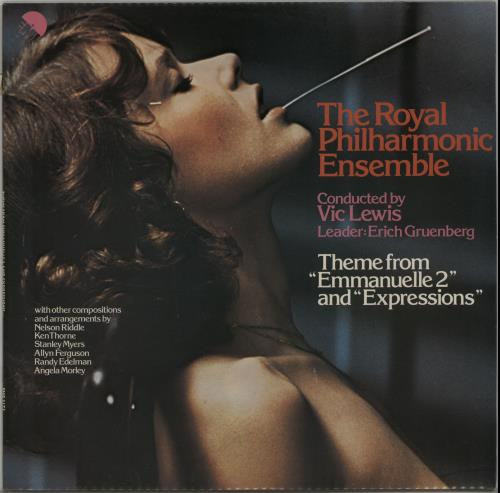 Vic Lewis Theme From Emmanuelle 2 And Expressions - Factory Sample vinyl LP album (LP record) UK VB-LPTH649117