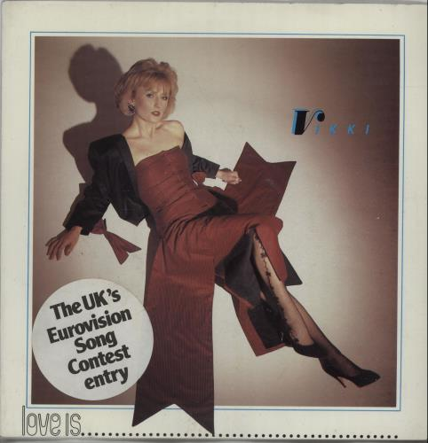 "Vikki Love Is.... 7"" vinyl single (7 inch record) UK X8S07LO671454"
