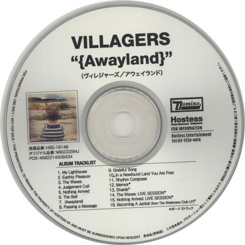 Villagers Awayland + PR CD-R acetate Japanese VI9CRAW651966