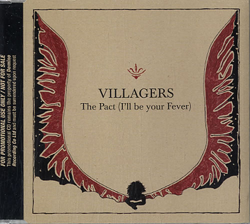 """Villagers The Pack (I'll Be Your Fever) CD single (CD5 / 5"""") UK VI9C5TH630662"""