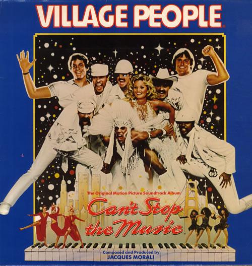 Village People Can't Stop The Music vinyl LP album (LP record) UK VILLPCA562155