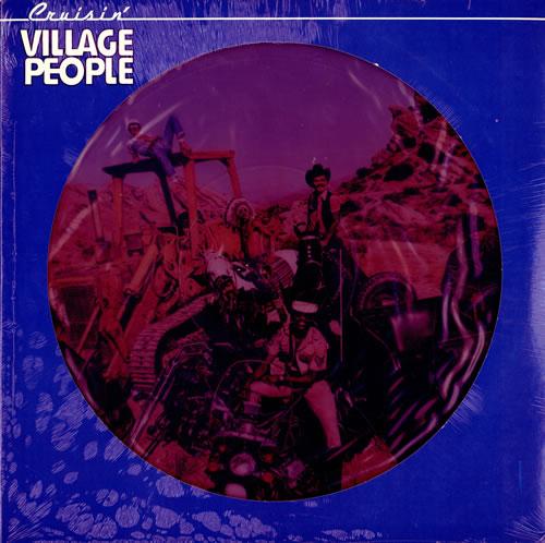 Village People Cruisin' - Sealed picture disc LP (vinyl picture disc album) US VILPDCR125908