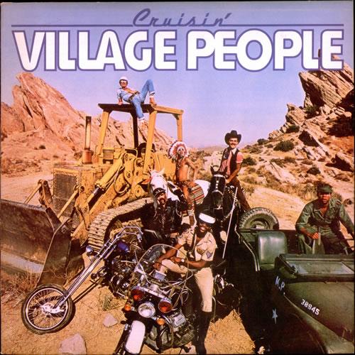 Village People Cruisin' vinyl LP album (LP record) UK VILLPCR521825