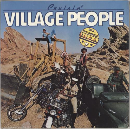 Village People Cruisin' vinyl LP album (LP record) German VILLPCR723779