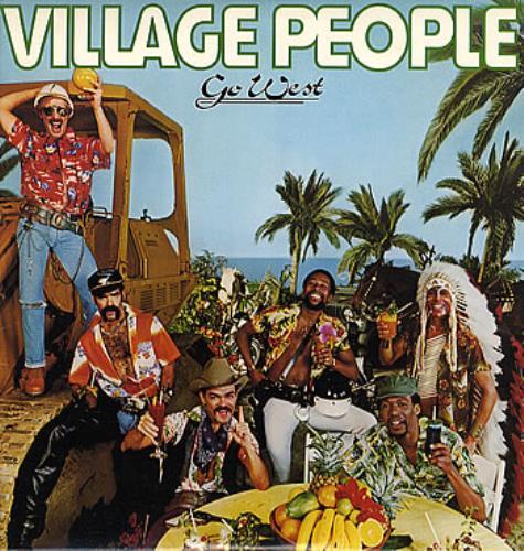 Village People Go West vinyl LP album (LP record) US VILLPGO288126