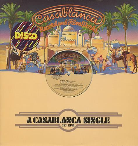 "Village People Go West 12"" vinyl single (12 inch record / Maxi-single) US VIL12GO38041"