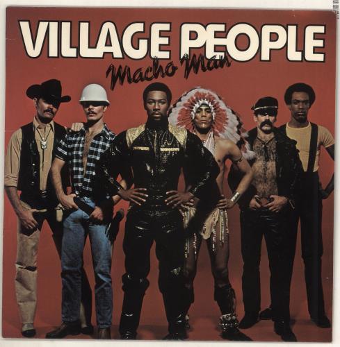 Village People Macho Man vinyl LP album (LP record) UK VILLPMA388335