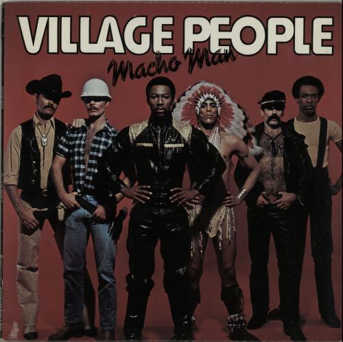 "Village People Macho Man 12"" vinyl single (12 inch record / Maxi-single) US VIL12MA655479"