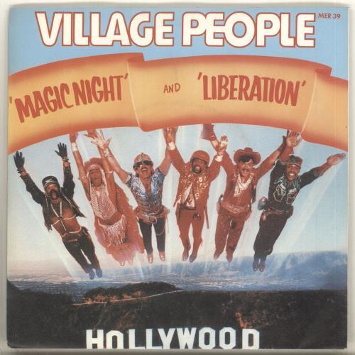 "Village People Magic Night 7"" vinyl single (7 inch record) UK VIL07MA714247"