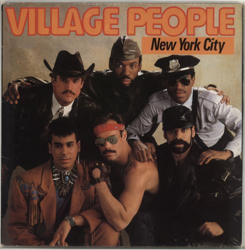 Village People New York City vinyl LP album (LP record) UK VILLPNE718675