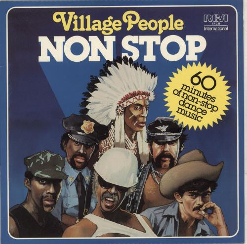 Village People Non Stop vinyl LP album (LP record) Australian VILLPNO711451