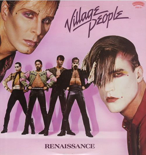 Village People Renaissance vinyl LP album (LP record) Japanese VILLPRE555878