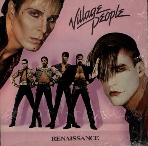 Village People Renaissance vinyl LP album (LP record) US VILLPRE699419