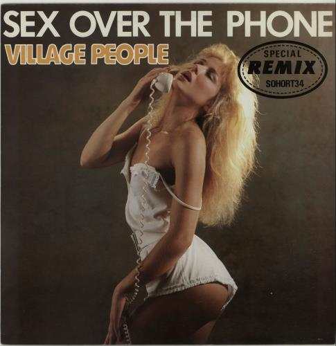 "Village People Sex Over The Phone 12"" vinyl single (12 inch record / Maxi-single) UK VIL12SE101988"