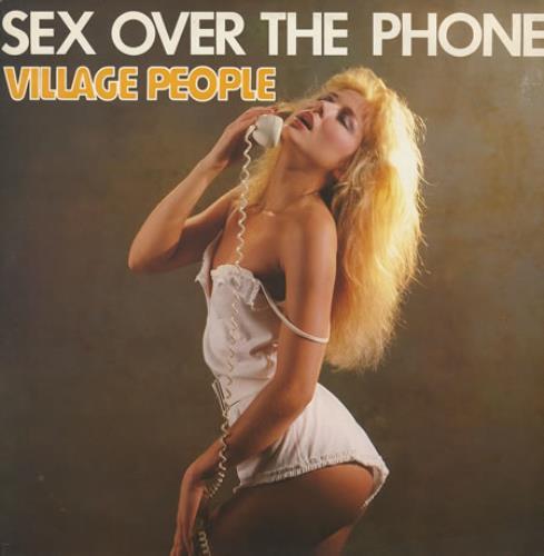 "Village People Sex Over The Phone 12"" vinyl single (12 inch record / Maxi-single) UK VIL12SE220377"