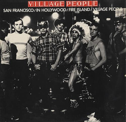 Village People Village People vinyl LP album (LP record) UK VILLPVI119493