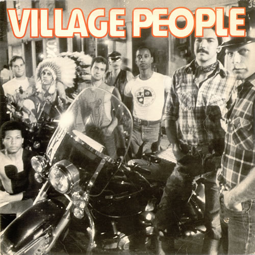 Village People Village People vinyl LP album (LP record) Canadian VILLPVI523368