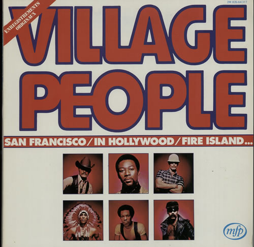 "Village People Village People 12"" vinyl single (12 inch record / Maxi-single) French VIL12VI628261"