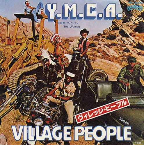 "Village People Y.M.C.A. 7"" vinyl single (7 inch record) Japanese VIL07YM207542"
