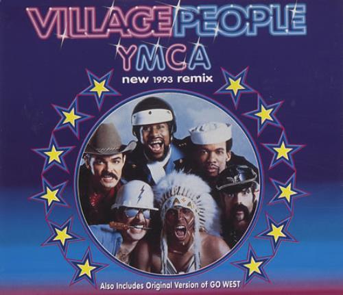 """Village People Y.M.C.A. CD single (CD5 / 5"""") German VILC5YM23090"""