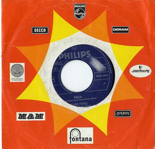 """Village People Y.M.C.A. 7"""" vinyl single (7 inch record) Dutch VIL07YM629086"""